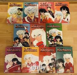 INUYASHA 1-33 11 Books Omnibus Manga Collection Complete Set Run ENGLISH RARE