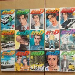 Initial D Japanese language Vol. 1-48 All Volumes Complete set Manga Comics