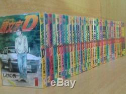 Initial D Vol. 1-48 Manga All Complete Lot Set Comic