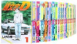 Initial D comic all 48 volumes complete set (Young Magazine Comics)