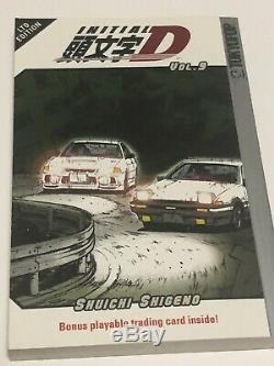Initial D manga English Vol 1-33 Complete English Run