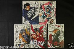 JAPAN Nobuhiro Watsuki manga LOT Rurouni Kenshin kanzenban 122 Complete Set