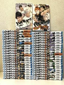 Japanese Comics Complete Full Set Haikyuu vol. 1-44