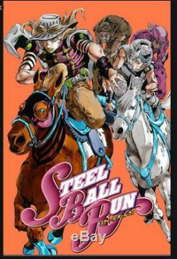 Japanese editionSteel Ball Run Vol 1-24 Complete set Jojo's bizarre adventure
