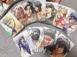 Kengan Ashura Vol. 1- 27 complete set lot Manga Japanese Comics