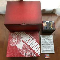 Kinnikuman Complete DVD Box anime Kinkeshi 418 Pac Booklet Manga Full Set F/S JP