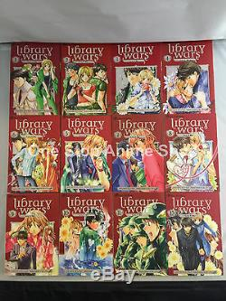 Library Wars Love & War (Vol. 1-15) English Manga Graphic novelSet NEW complete