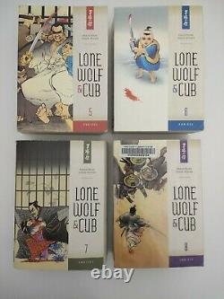 Lone Wolf and Cub Omnibus Volumes 1-12 Complete Set Dark Horse English Manga OOP