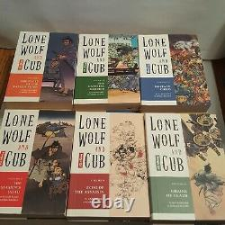 Lone Wolf and Cub Volumes 1-28 (Dark Horse) Complete Set Rare OOP English