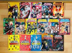MY HERO ACADEMIA 1-23 SCHOOL BRIEF SMASH VIGILANTE Manga Collection Complete Set