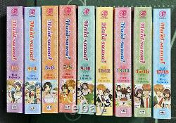 Maid-sama manga English Complete Set In 9 Volumes (2 In 1 Edition) Brand New