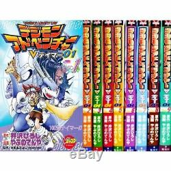 Manga Digimon Adventure V-Tamer 01 VOL. 1-9 Comics Complete Set Japan Comic F/S