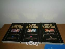 Master Keaton Vol. 1-12 by Naoki Urasawa Manga Book Complete Lot in English