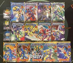 Megaman NT Warrior Vol 1-13 Manga English Complete Set (3 Bubble Budds Included)