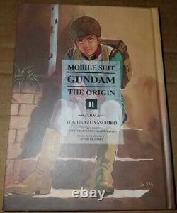 Mobile Suit Gundam the Origin Manga Book Vols. 1-12 English complete set HC
