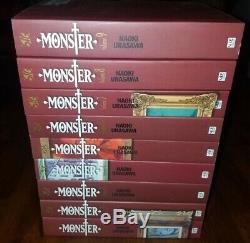 Monster Perfect Edition 1-9 Vols. English Manga Graphic Novel NEW Complete Set