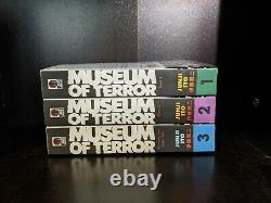 Museum of Terror English Manga Complete Series Set Volumes 1-3 Junji Ito OOP