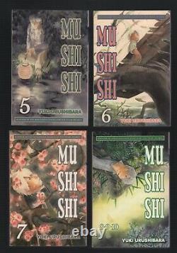 Mushishi Vol 1-10 Complete Manga Series/Set Yuki Urushibara ENGLISH
