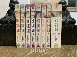 Mushishi manga COMPLETE 1-10 Yuki Urushibara Del Rey OOP RARE English Mushi Shi