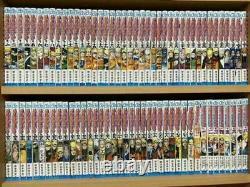 NARUTO Vol, 1 -72 Latest complete Full Set used manga comic Japanese
