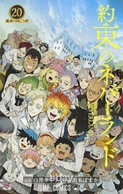 NEW The Promised Neverland vol. 1-20 Complete set Comics Manga