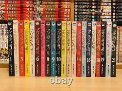 NORAGAMI STRAY GOD 1-21 Manga Collection Complete Volumes Set ENGLISH RARE