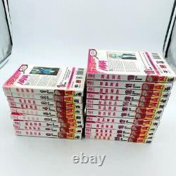 Nana Ai Yazawa COMPLETE manga English, Vol. 1-21 RARE