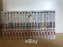 Naoki Urasawas Monster 1-18 Complete Manga Excellent Condition OOP RARE English