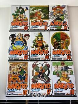 Naruto Manga COMPLETE Vol. 1-72 ENGLISH NEW