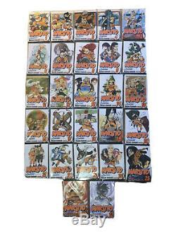 Naruto Manga Complete Collection 1-72 (+4 Other Naruto Related Manga)