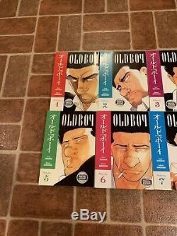Oldboy Volumes 1-8 Complete English Manga Garon Tsuchiya Dark Horse FREE SHIP