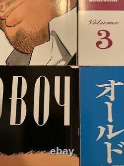 Oldboy Volumes 1-8 English Manga Garon Tsuchiya Complete Series Rare Dark Horse