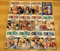 One Piece 1-83 Manga Collection Complete Set Run Volumes ENGLISH RARE