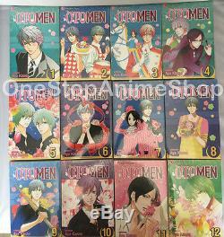 Otomen manga set volumes 1-18 complete new sealed anime