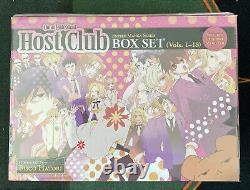Ouran High School Host Club Complete Box Set Manga English Unopened Box