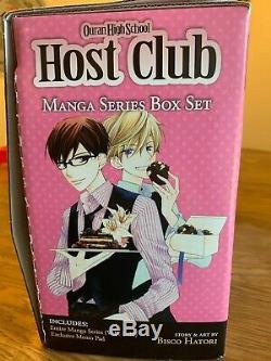 Ouran High School Host Club Manga Series Box Set Bisco Hatori Vol 1-18 COMPLETE