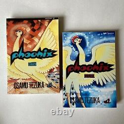 Phoenix Osamu Tezuka Manga Complete Collection Vol 1 12 Rare OOP Viz