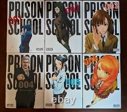 Prison School Manga ENGLISH Volumes 1-14 Complete! Brand New