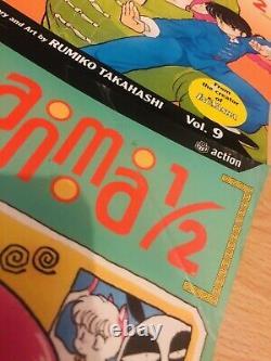 RANMA 1/2 1-29 Manga Collection Complete Set Run Volumes ENGLISH RARE
