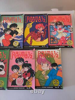 RANMA 1/2 Manga Complete Collection 1-36 plus bonus English G-VG