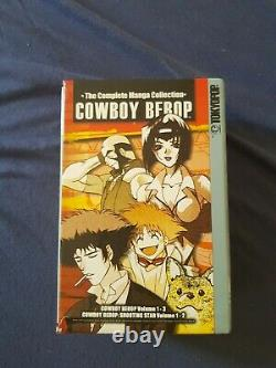 RARE Cowboy Bebop Tokyopop Complete Box Set 1-3 and 1-2 Shooting Star Manga