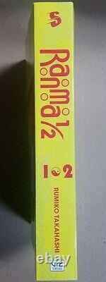 Ranma 1/2 1-38 2 in1 Books English Manga 19 books English Brand new complete set