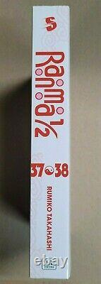 Ranma 1/2 1-38 in 2in1 Books English Manga 19 books English brand new Complete