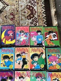 Ranma 1/2 Complete Manga VIZ Vol. 1-36 Rumiko Takahashi English Complete