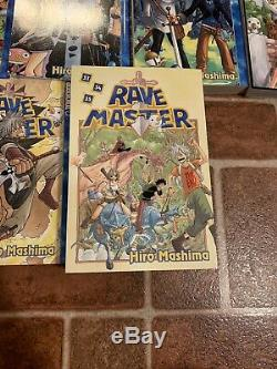 Rave Master Volumes 1-35 Complete Series English Manga Tokyopop Hiro Mashima