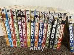 Reborn Complete 1-16 Manga Set English Akira Amano Viz Media Shonen Jump Advance