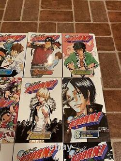 Reborn! Volumes 1-16 English Manga Complete Run Akira Amano Viz FREE SHIPPING