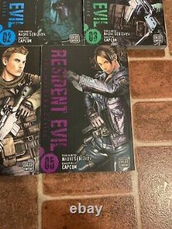 Resident Evil The Marhawa Desire Volumes 1-5 Complete Series English Manga RARE
