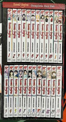 Rosario Vampire Complete Box Set English Manga Season I & II