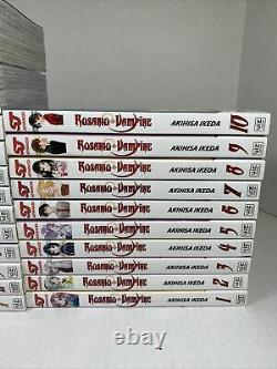 Rosario + Vampire Complete Box Set Vols 1-10 & Season 2 Vols. 1-14 English manga
